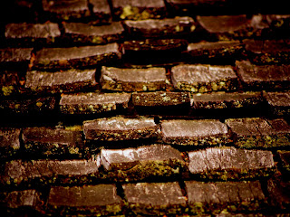 wooden tile roof