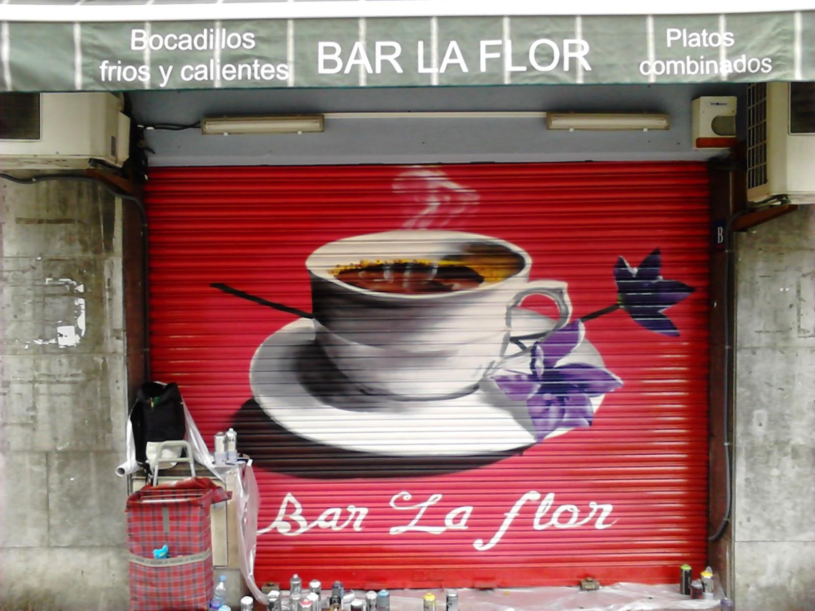 Graff y trabajos de decoracion verano 2014 sh for Trabajos de verano barcelona