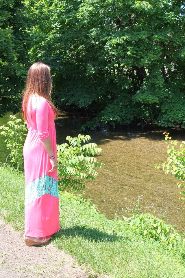 fashion, outfit, summer dress, oakleigh rose, pastel