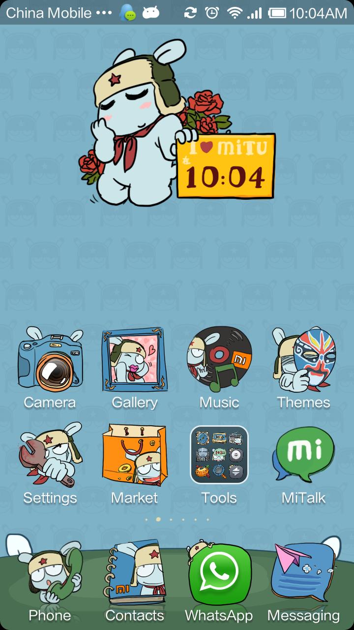 Xiaomi MIUI - MiRabbit Theme