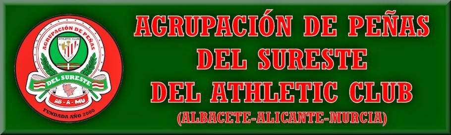 AGRUPACIÓN DE PEÑAS DEL SURESTE DEL ATHLETIC CLUB