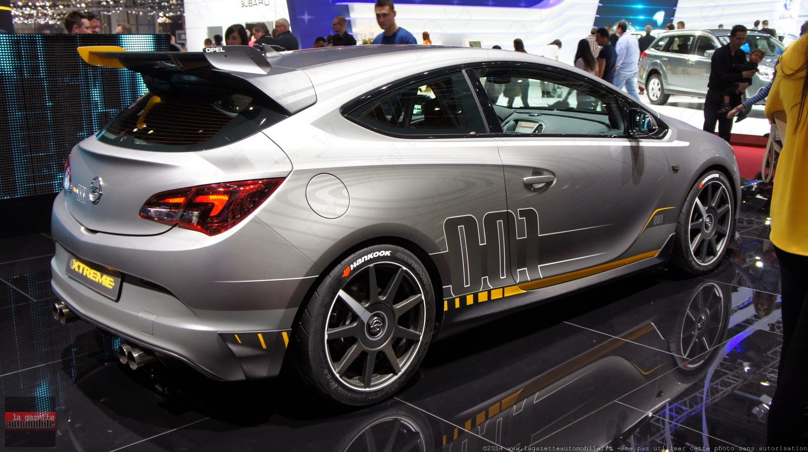 Genève : Opel Astra OPC Extreme