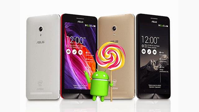 Asus adia update para dos aparelhos ZenFones e PadFones