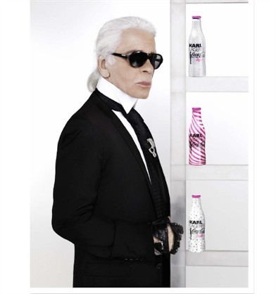 Karl Lagerfeld implemented the
