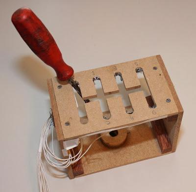 Photo of gear stick