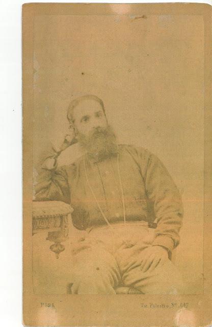 Foto del Medico Garibaldino Dr. Giuseppe Basile (n° inv. A3)