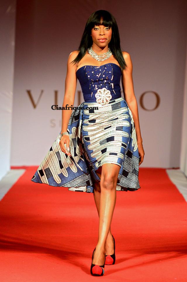 La Creatrice Togolaise   Grace Wallace a présenté sa nouvelle collection lors du Vlisco Fashion Show annuelle à Cotonou au Bénin. Collection complète sur ciaafrique