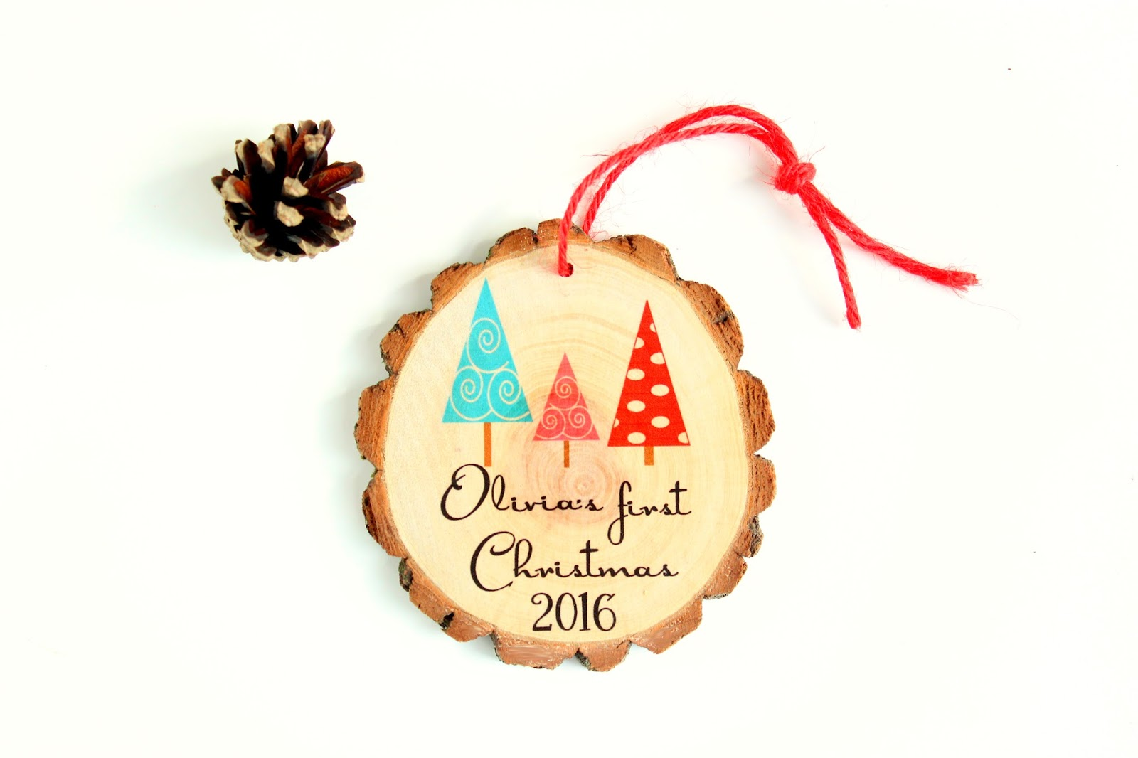 Custom first christmas ornament - Custom Family Ornaments