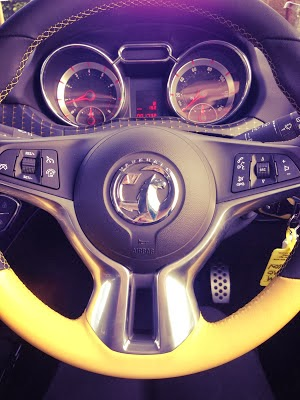 Vauxhall Adam Steering Wheel