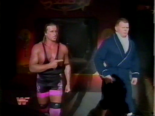 WWF / WWE - Survivor Series 1994: Owen Hart was Bob Backlund's second in Backlund's WWF Championship match against Bret 'The Hitman' Hart