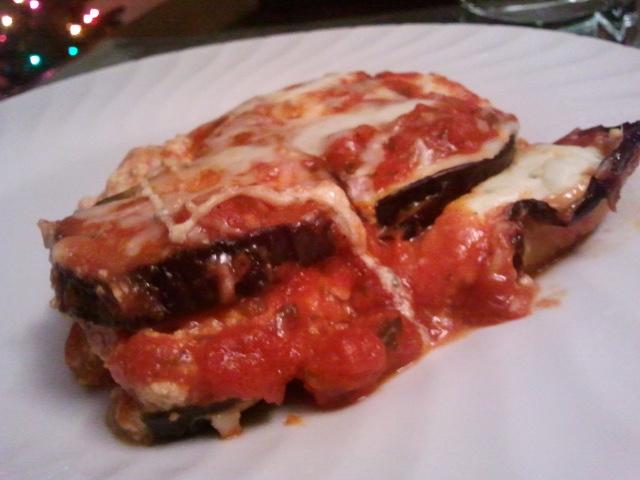 Stephanie's Late Night Ramblings: Lighter Eggplant Parmesan