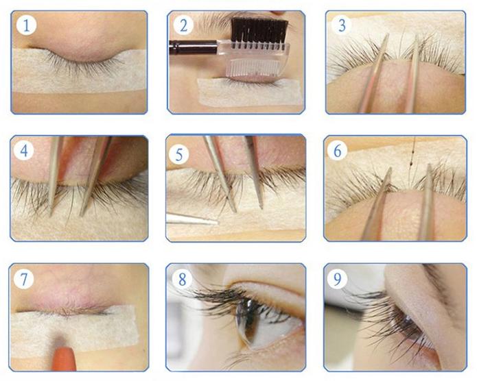 Tips Of Eyelash Extension Application 2 Good Yard Hair