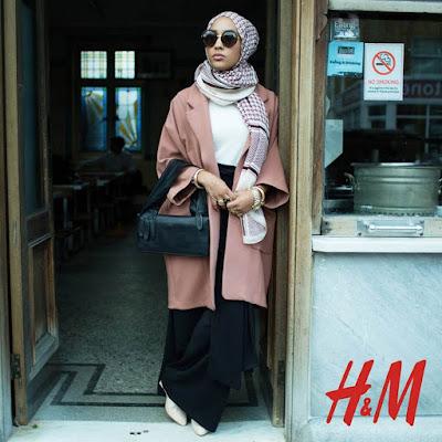 H&M's Muslim Model Mariah Idrissi