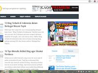 Mas sugeng blog berganti domain, kenapa?