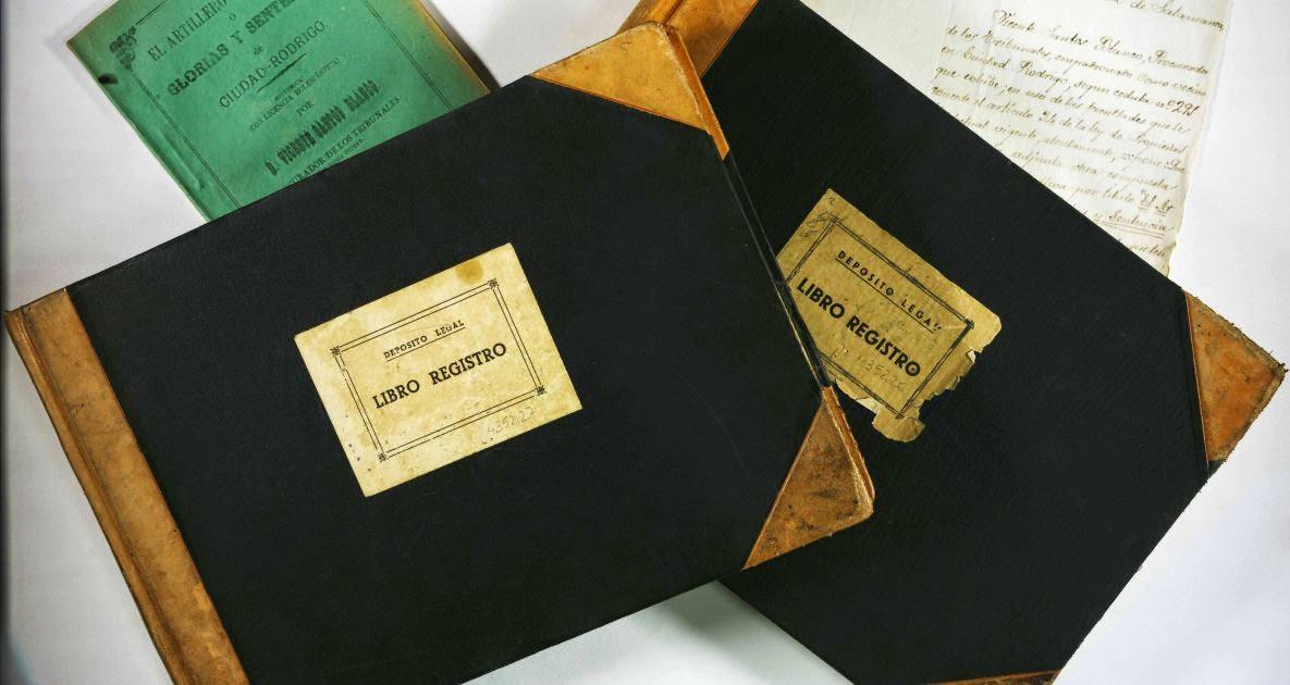 Libros del Registro de la propiedad
