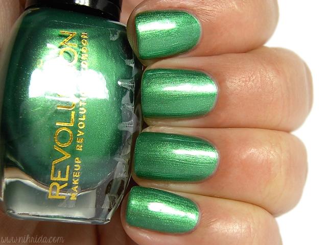 Makeup Revolution Nail Polish - Emerald Eyes