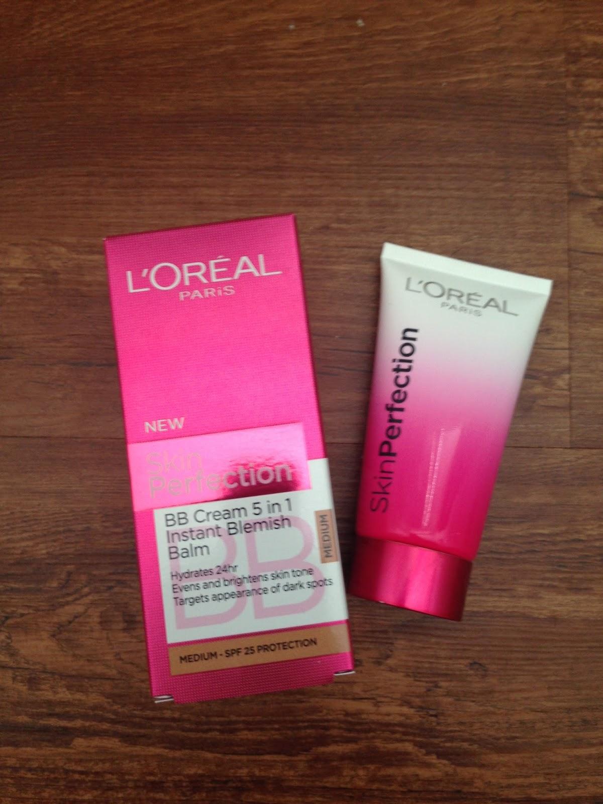 loreal skin perfection bb cream recenze