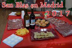 SAN BLAS EN MADRID 2017