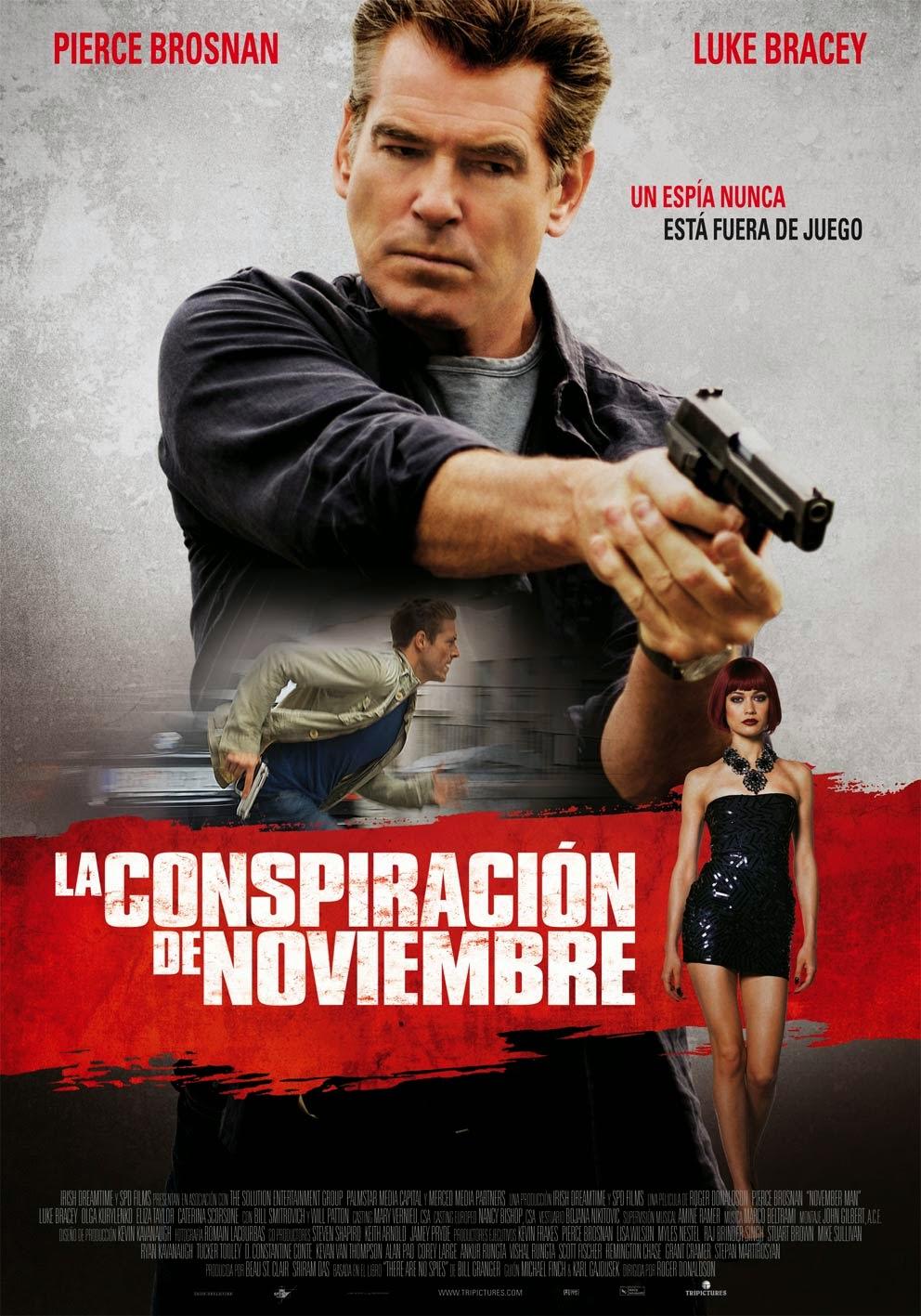 La conspiración de noviembre (The November Man)