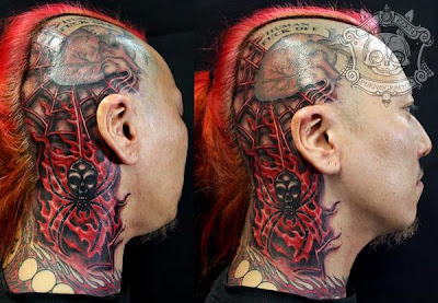 designs zombie tattoo