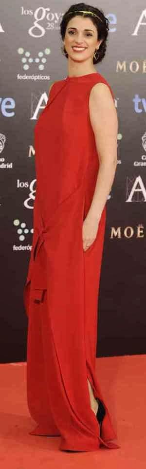 alfombra roja goya 2014