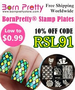 Born Pretty Store 10% off code RSL91