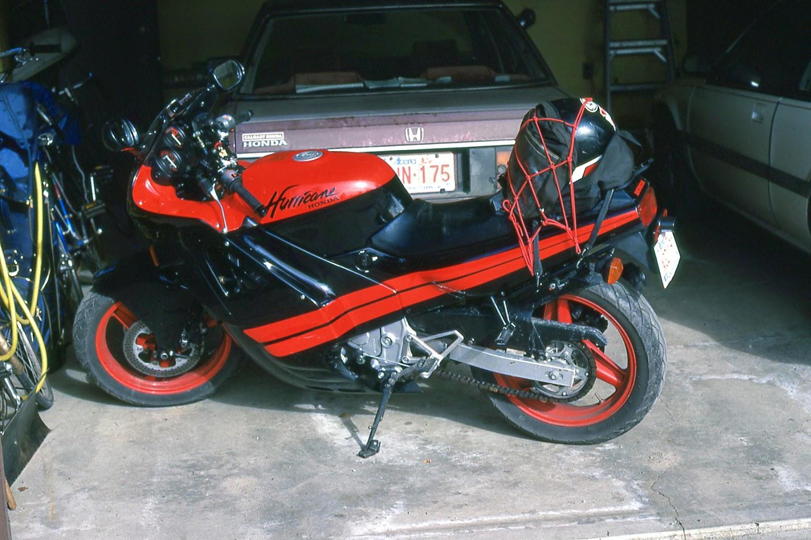 Скачать Honda CBR 750 Hurricane мануал