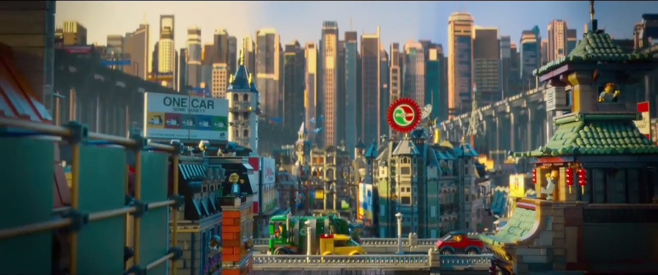 lego movie city background - photo #43