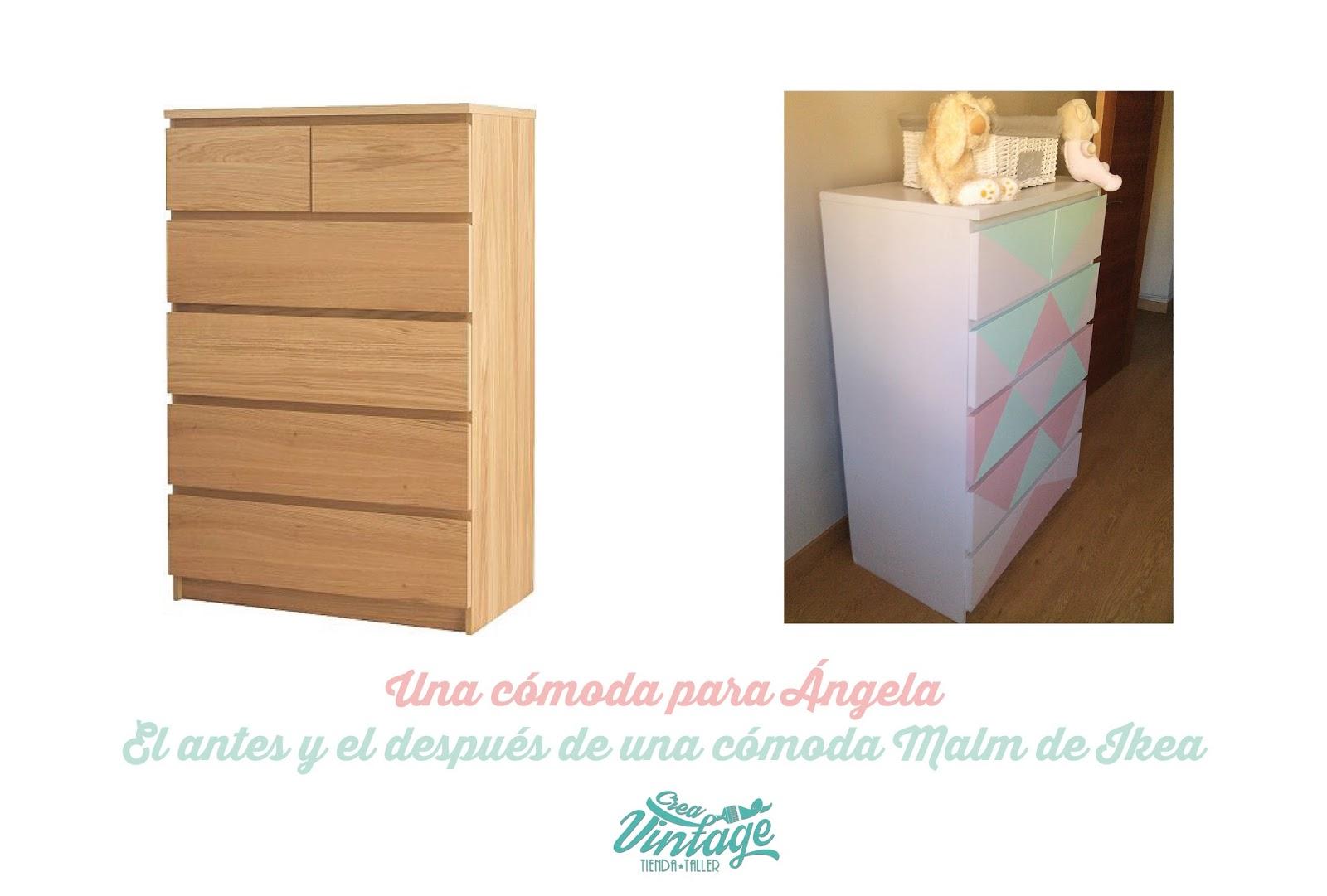 Crea vintage diy 5 pasos para convertir un mueble de for Mueble malm ikea