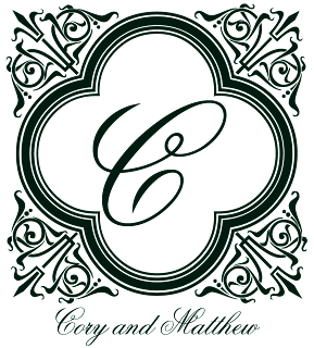 Custom Printables Marina monogram