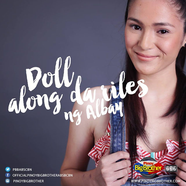 Barbie Imperial dubbed as Doll along da riles is PBB 737 Housemate