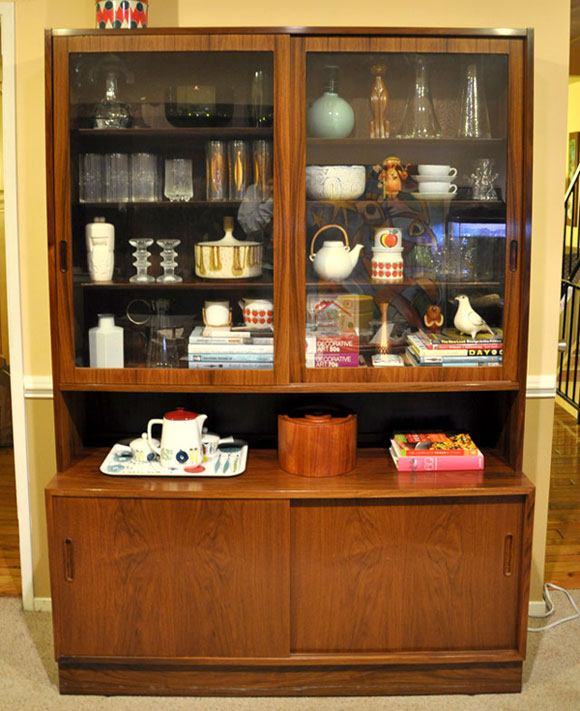 Superior Estate   Danish Hundevad China Cabinet. Returned To The 1970u0027s Modern  Townhouse For The Last Day Of The Sale When Everything Was 1/2 Off.