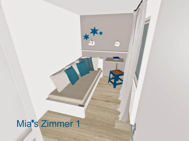 Zimmerplanung  LauxHaus: Mia's Zimmer Planung