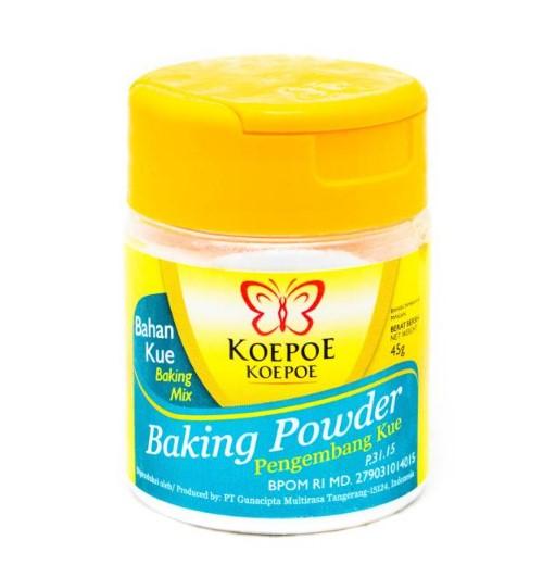 Inilah Perbedaan Baking Powder Dengan Baking Soda Atau Soda Kue Jajan Pinggiran