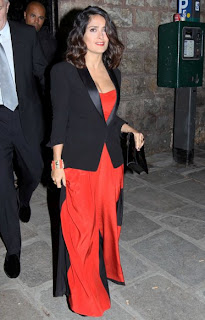 Salma Hayek, Salma Hayek at Paris Event, Salma Hayek in Paris Fashion Week
