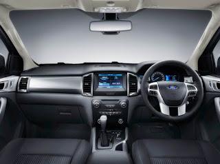 2018 Ford Ranger Australia  Interior