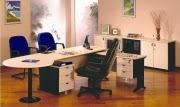 Uno Meja Kantor Platinum Series Maple-1