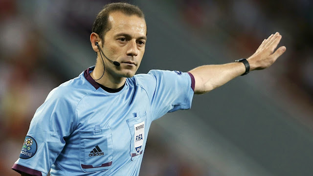 C�neyt �akır To Referee Champions League Final 2015 At Berlin