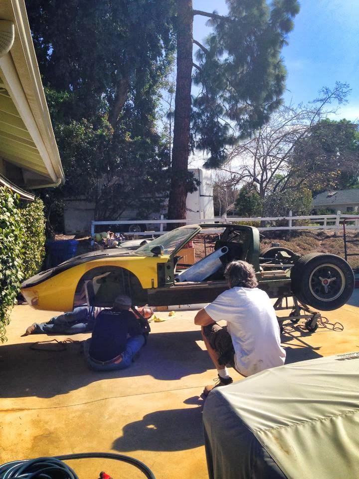 Garage Find Gt40 Mk I Chassis P 1067