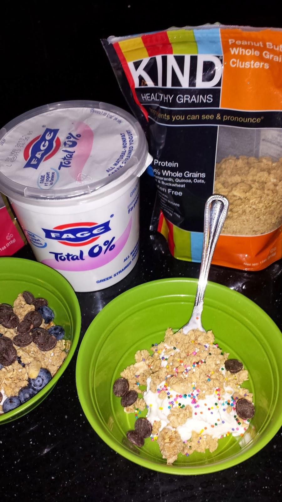 clean eating yogurt parfait