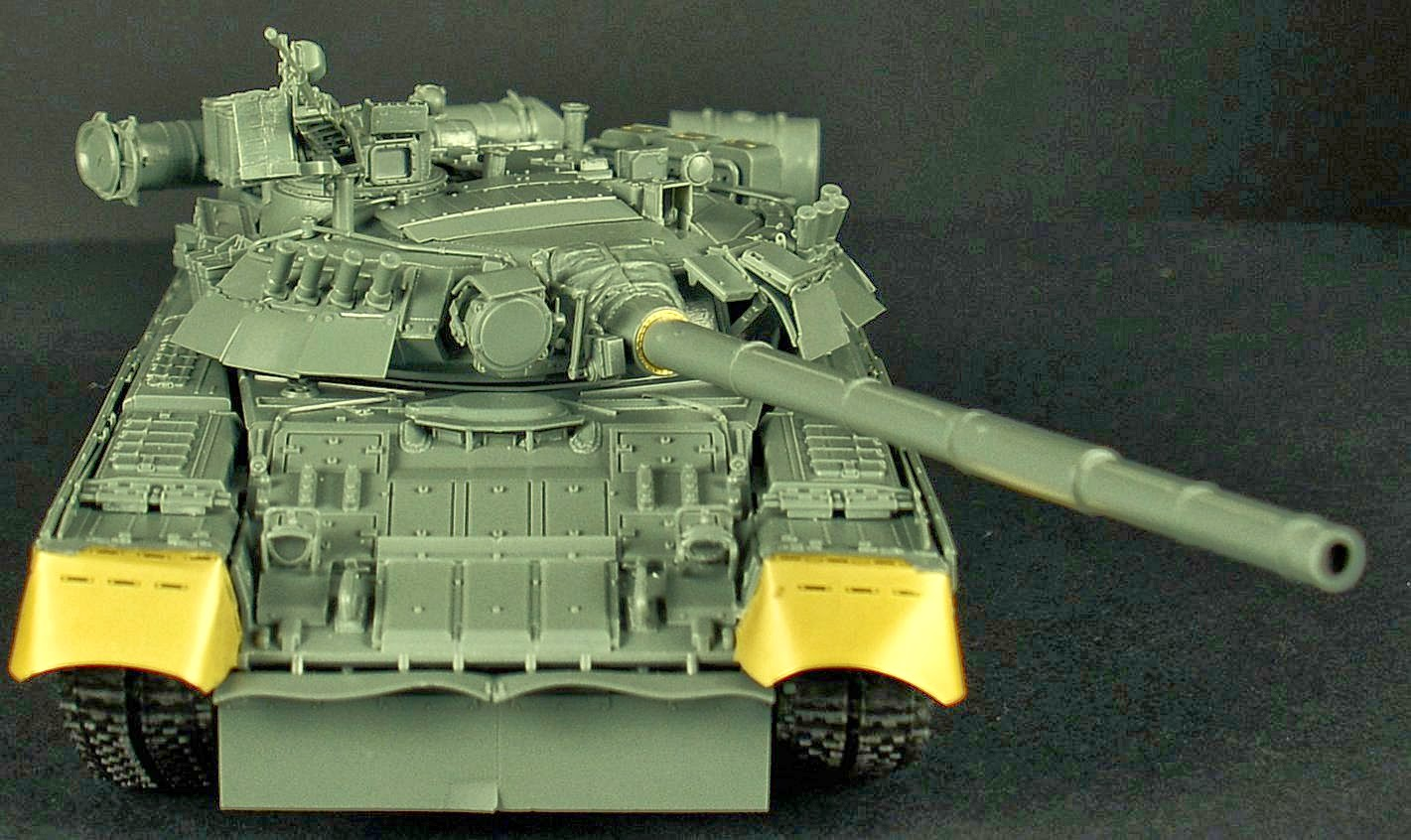 Review and build guide - Xact Scale Models 1/35th scale T-80U Soviet Main Battle Tank