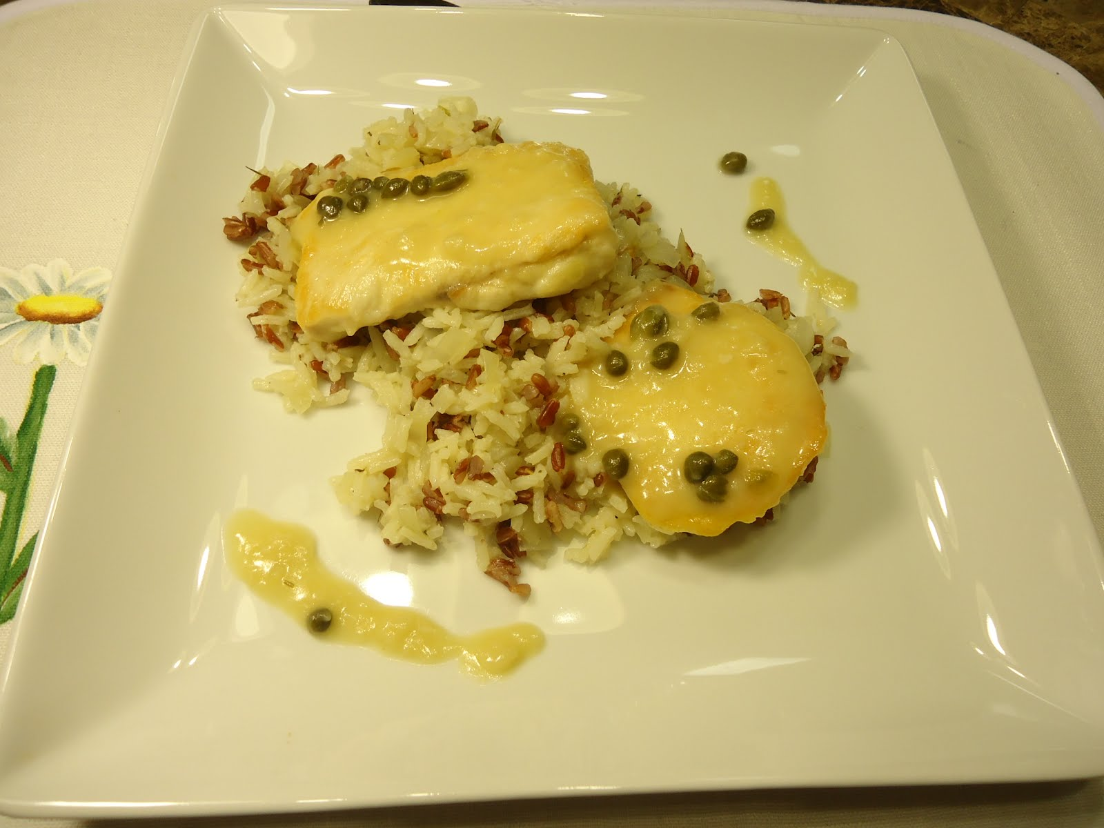 ... and Traveler by Yana Todorova: Chicken cutlets with lemon-caper sauce