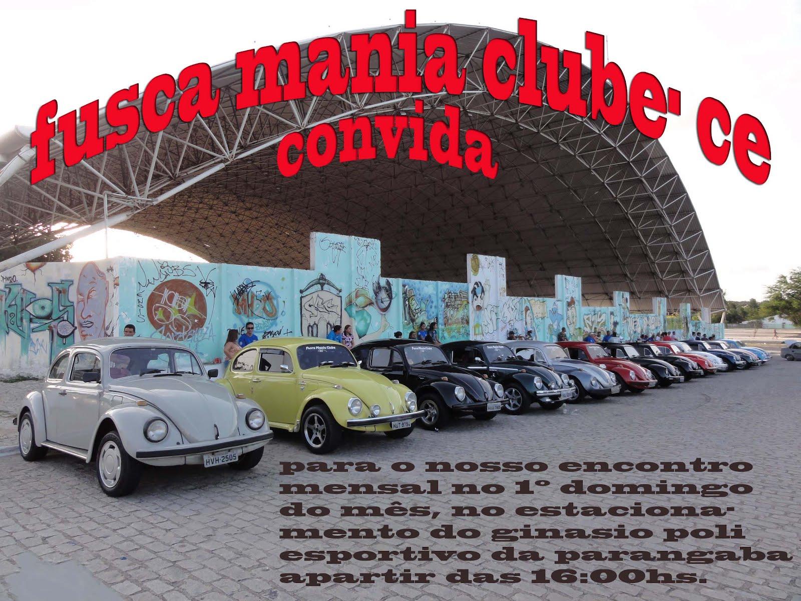 FUSCA MANIA CLUBE-CE