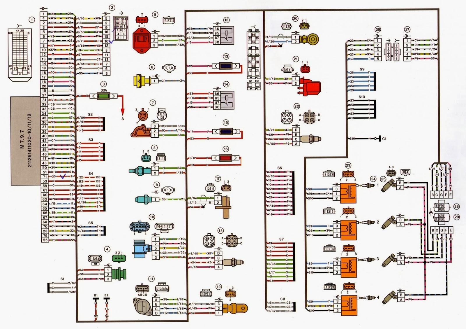 Схема подключения эбу bosch фото 698