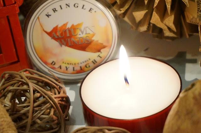 Spadające jesienne liście, czyli wieczór z Autumn Winds Kringle Candle