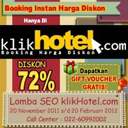 Kontes Seo Hotel Murah KlikHotel.com