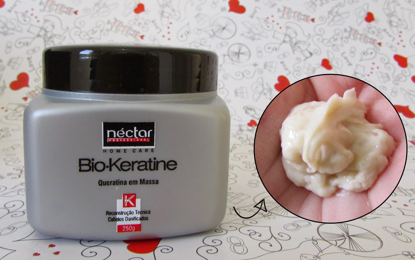 Resenha, queratina em massa, Bio.Keratine, Néctar do Brasil