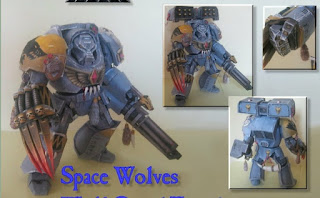 Wolf Guard Terminator Papercraft