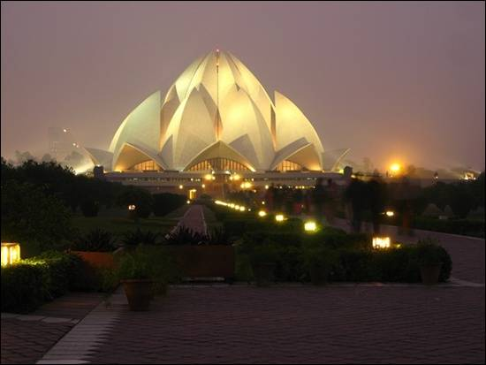 Lotus-Temple-Delhi-India