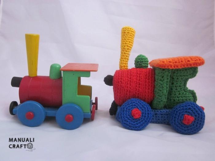 Tren amigurumi Manualicraft - Amigurumi, scrap y costura ...